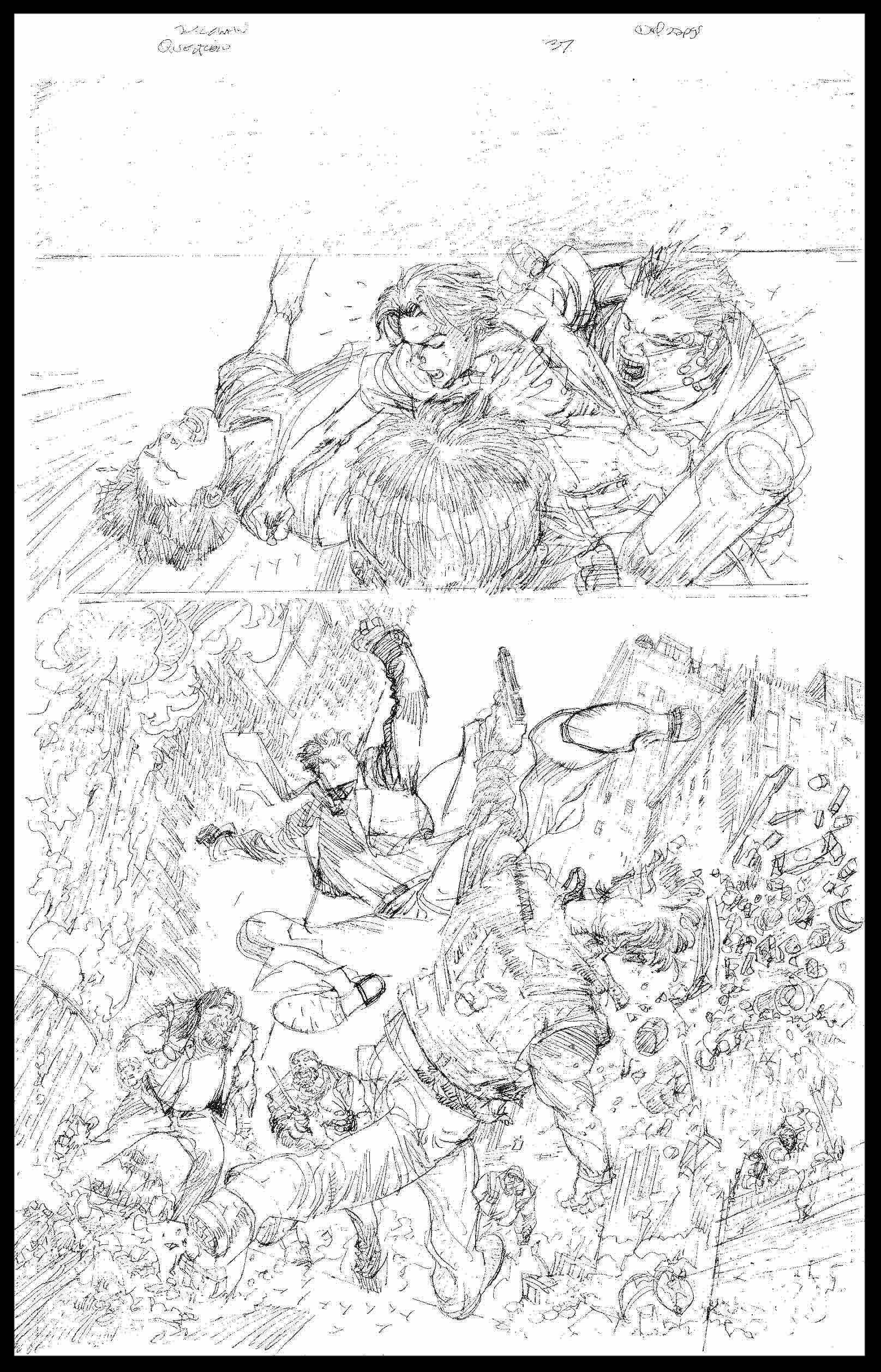 The Question #37 - Page 1 - Pencils