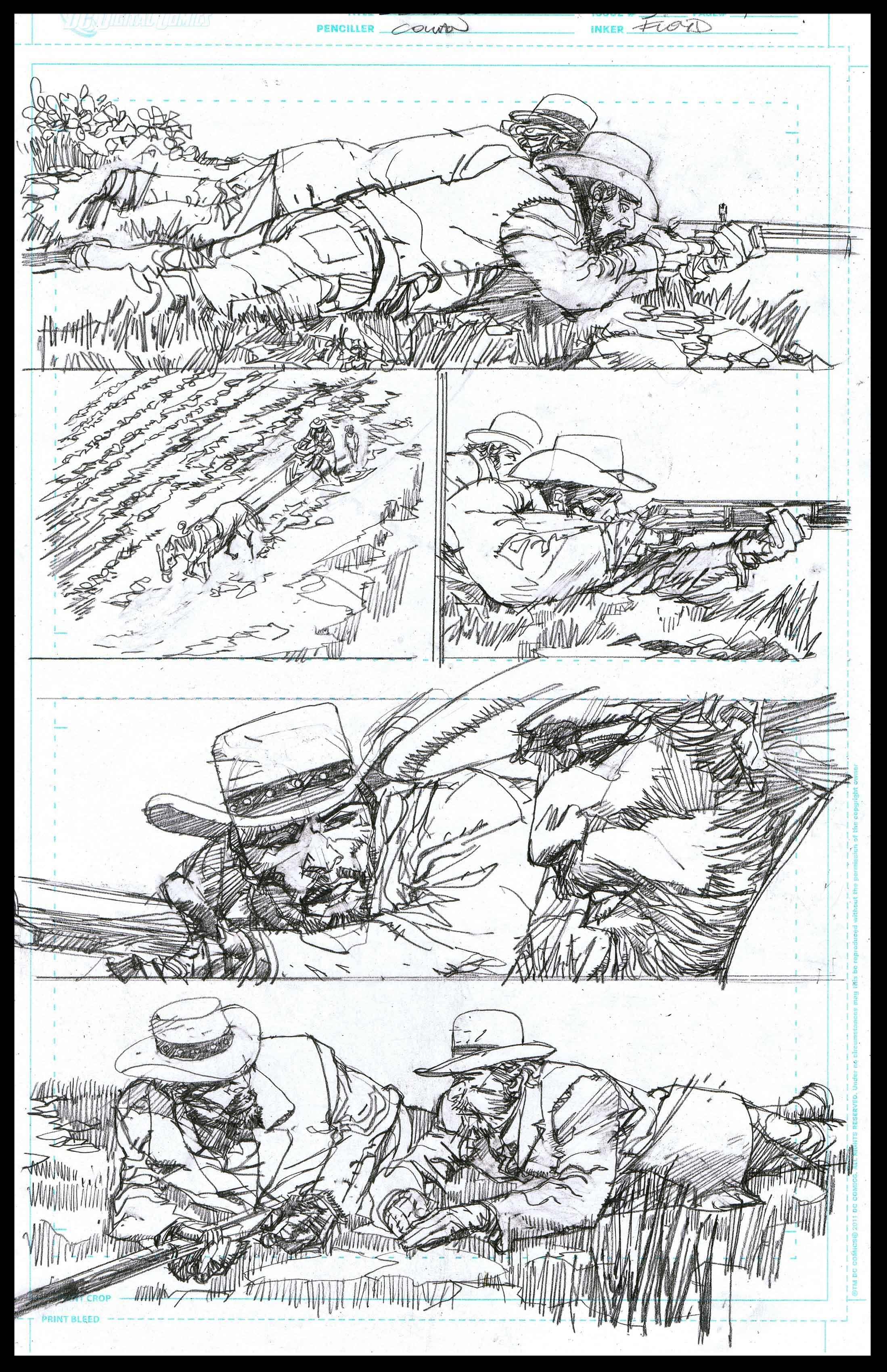 Django Unchained #3 - Page 4 - Pencils