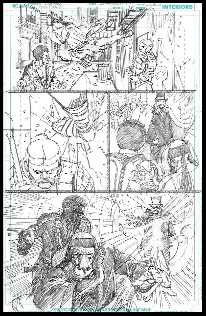 Black Lightning-Hong Kong Phooey #1 - Page 12 - Pencils