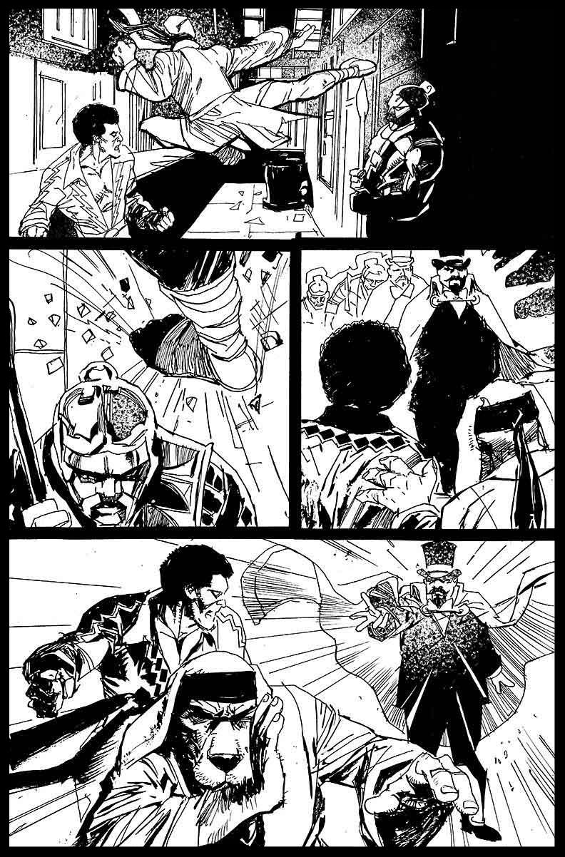 Black Lightning-Hong Kong Phooey #1 - Page 12 - Pencils & Inks