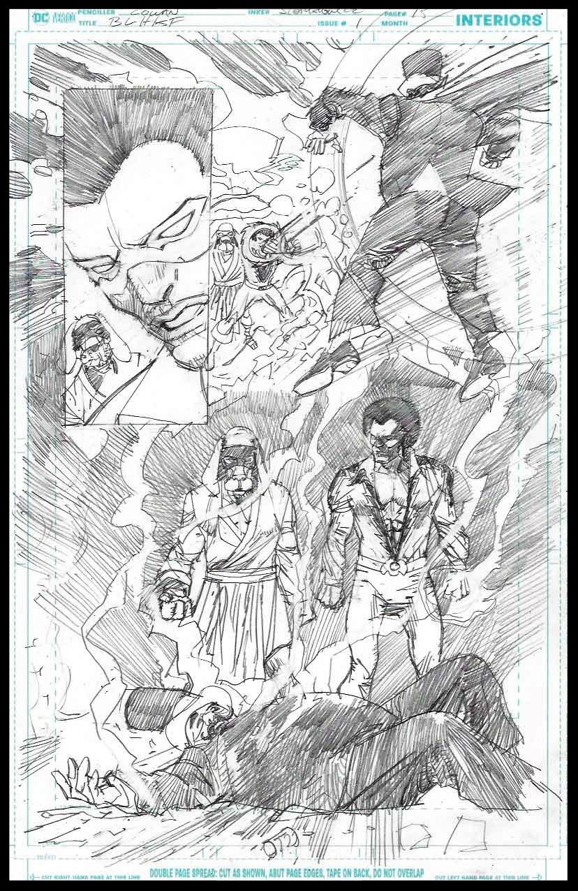 Black Lightning-Hong Kong Phooey #1 - Page 15 - Pencils
