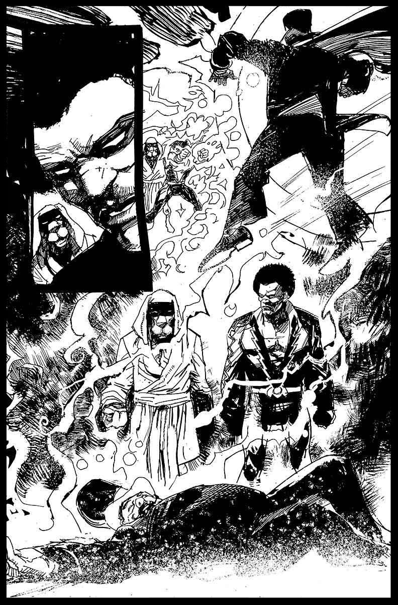 Black Lightning-Hong Kong Phooey #1 - Page 15 - Pencils & Inks