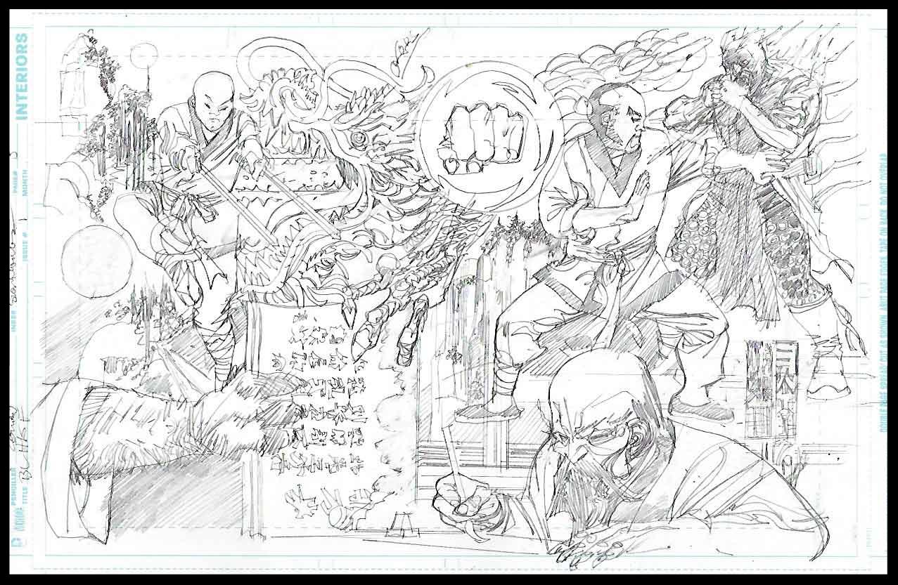 Black Lightning-Hong Kong Phooey #1 - Page 5 - Pencils