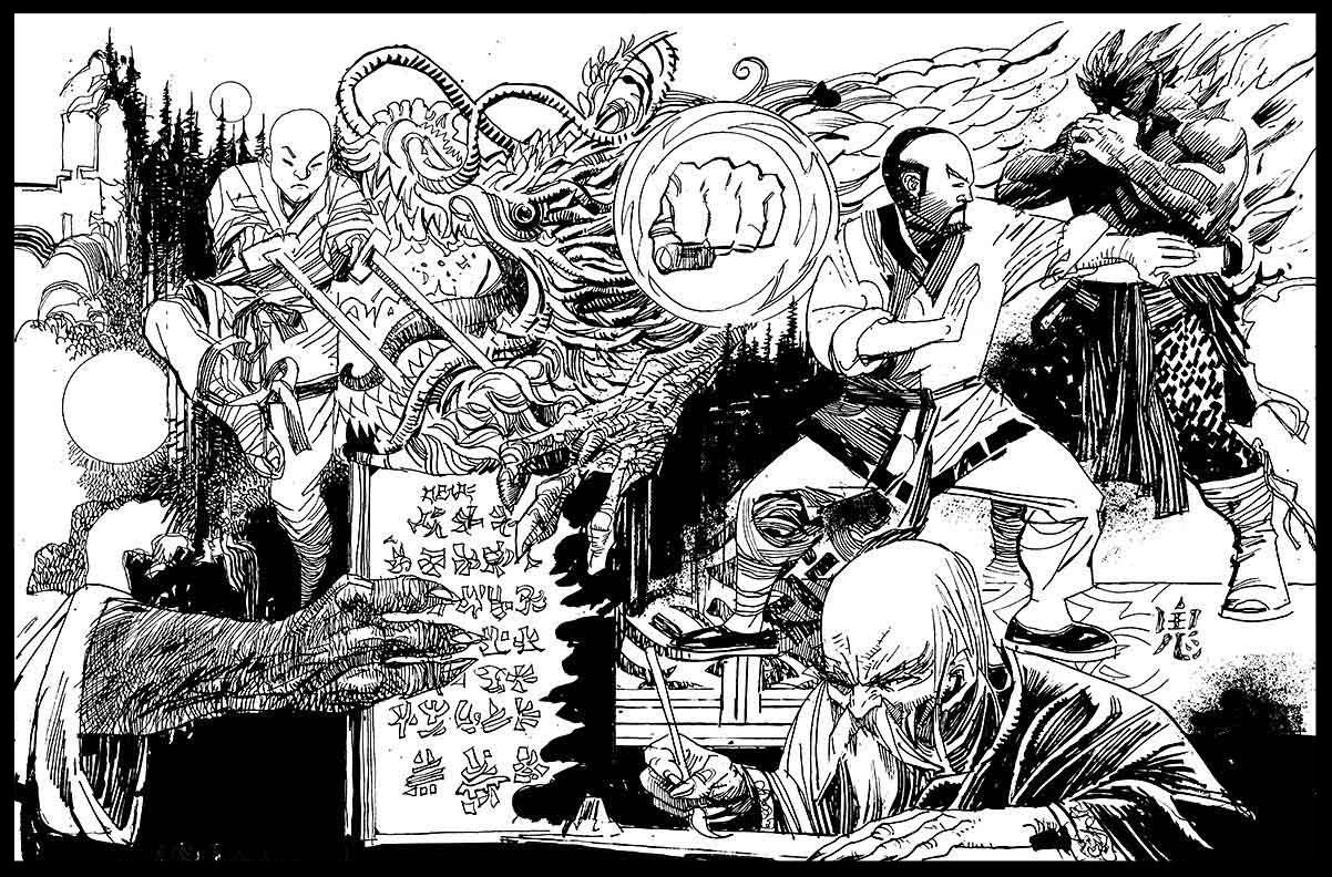 Black Lightning-Hong Kong Phooey #1 - Page 5 - Pencils & Inks