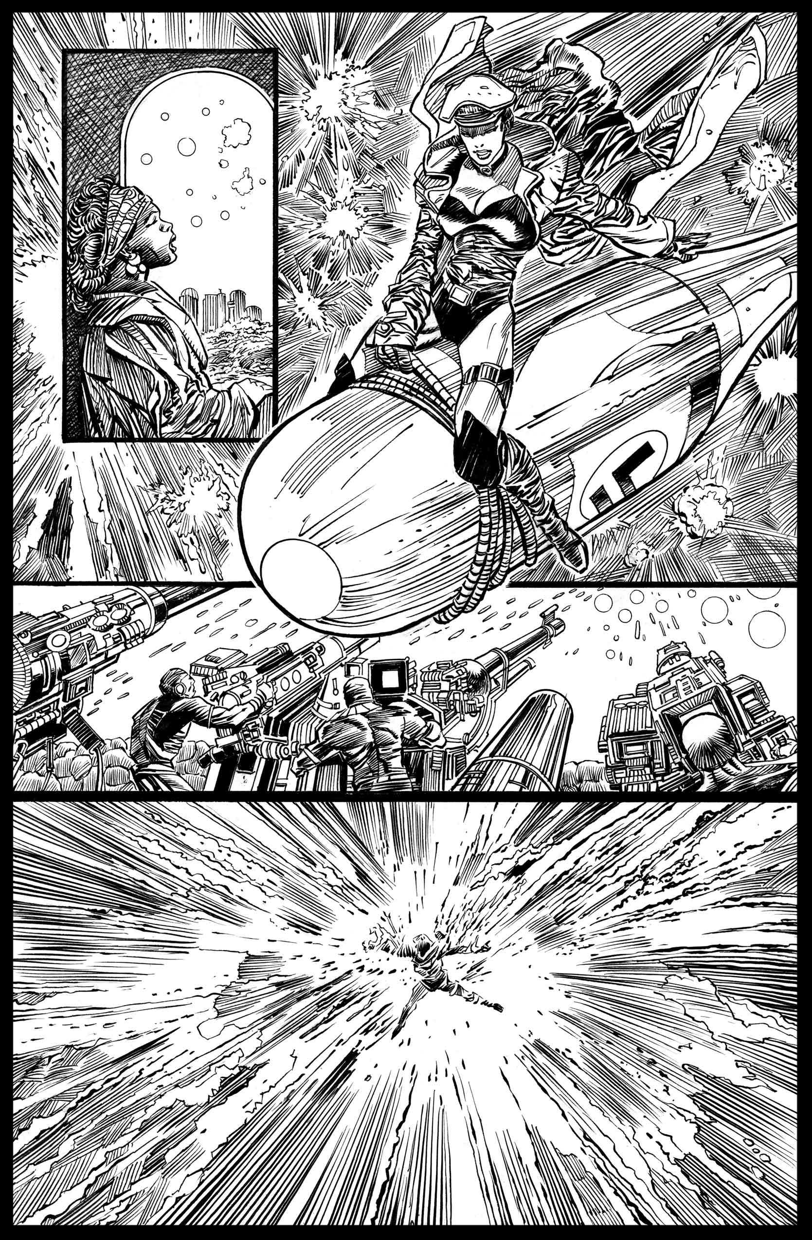 Flags of Our Fathers #3 - Page 10 - Pencils & Inks