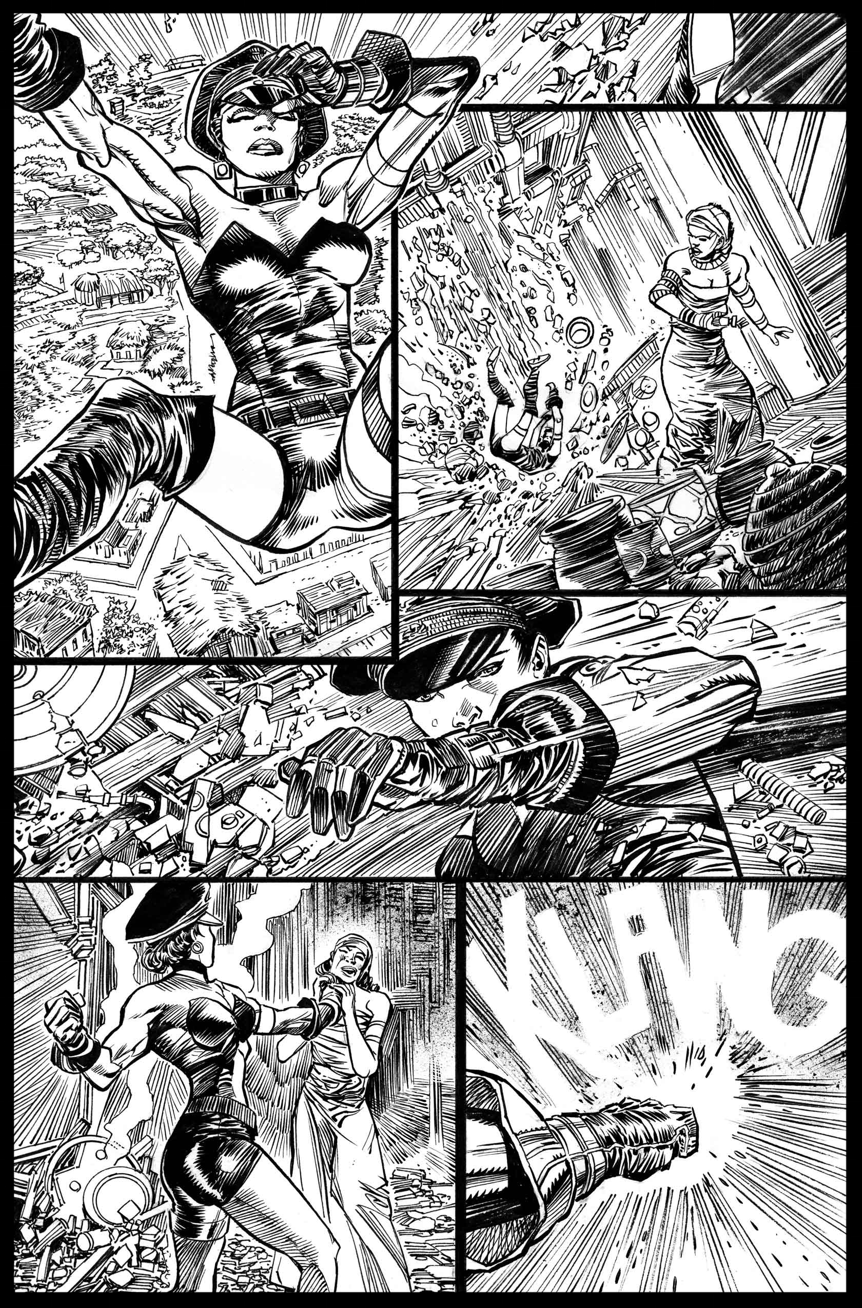 Flags of Our Fathers #3 - Page 11 - Pencils & Inks