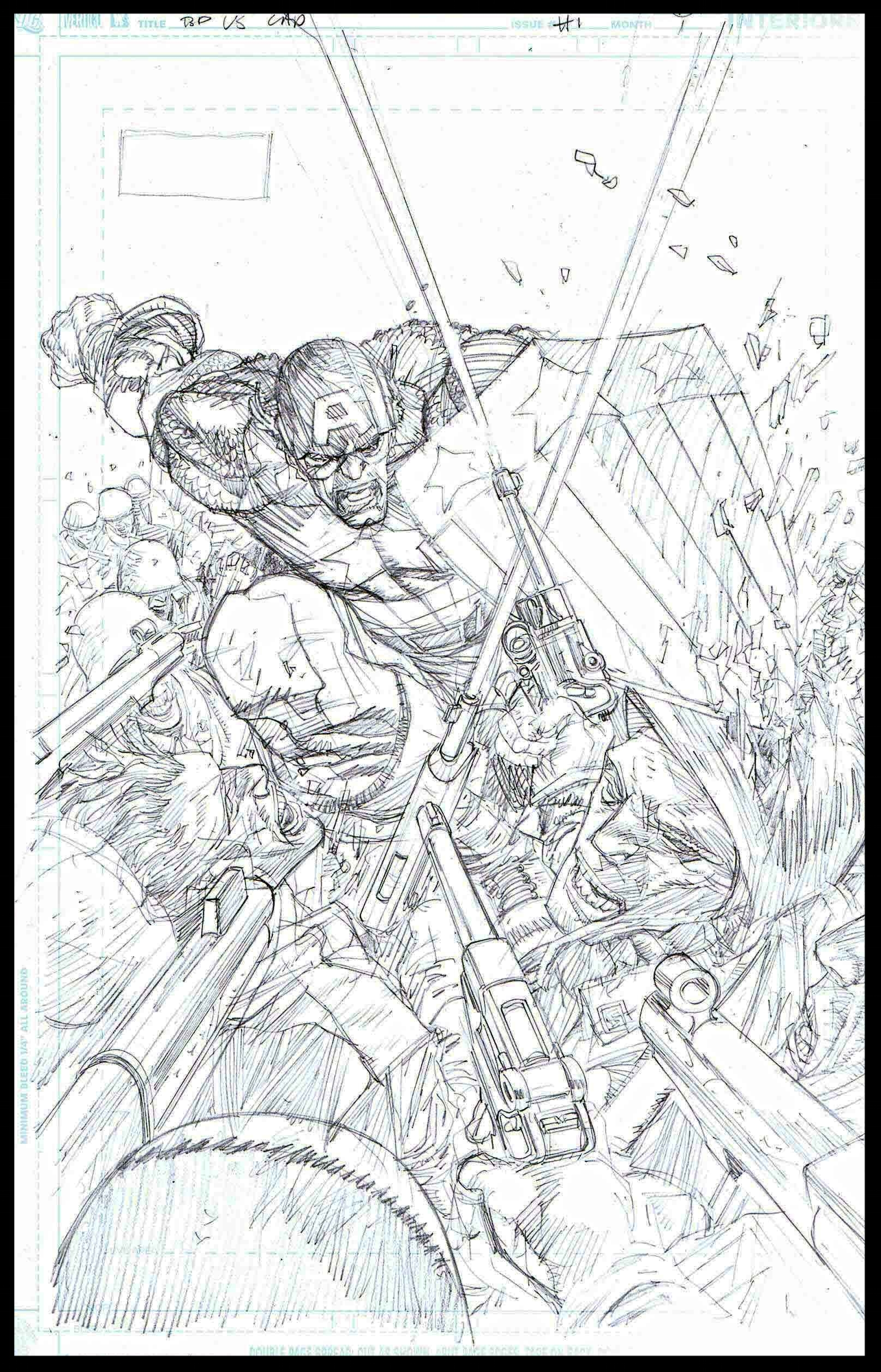 Flags of Our Fathers #1 - Page 6 - Pencils