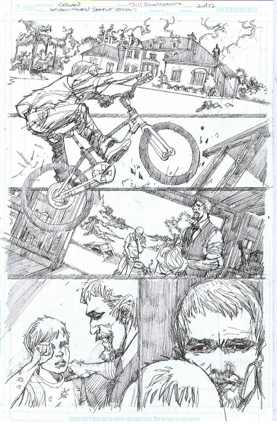 Green Arrow: Secret Origins - Page 2 - Pencils