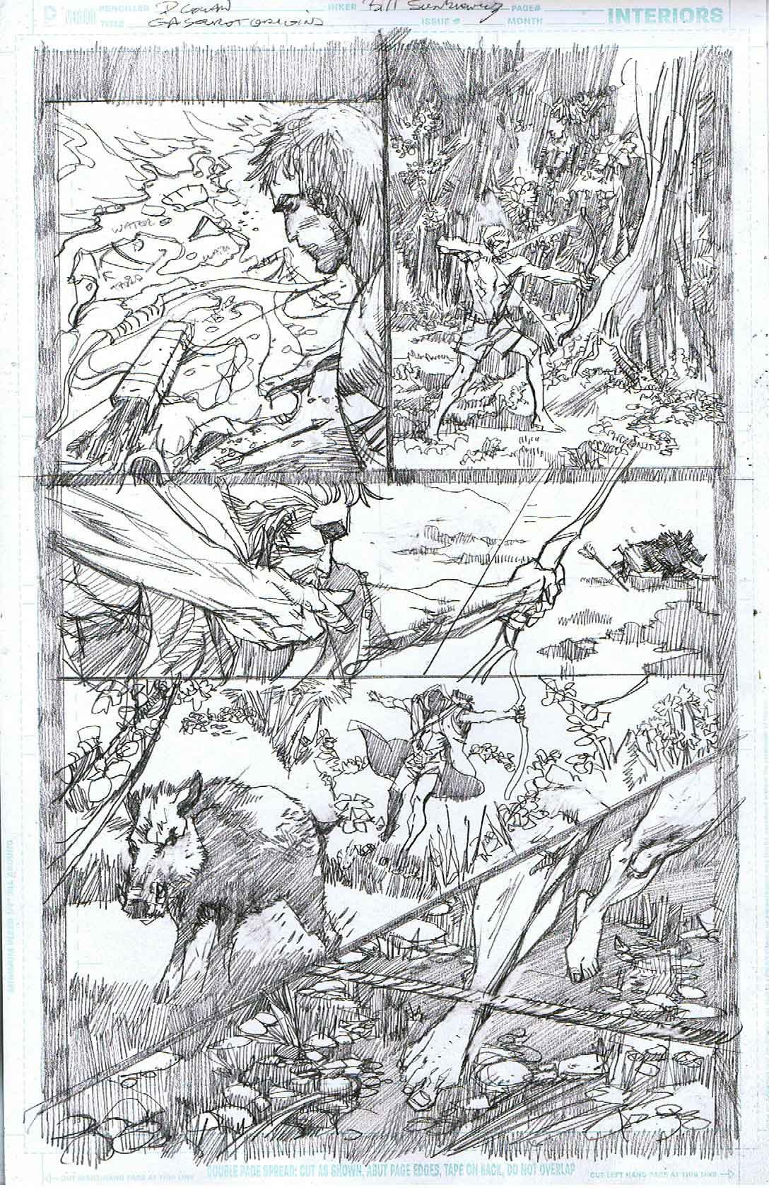 Green Arrow: Secret Origins - Page 6 - Pencils