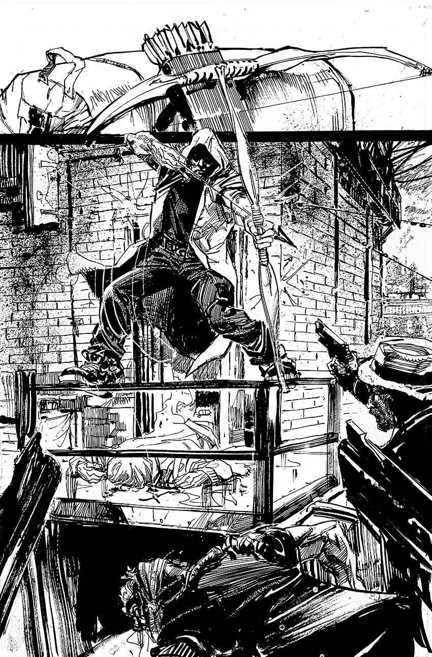Green Arrow: Secret Origins - Page 10 - Pencils & Inks