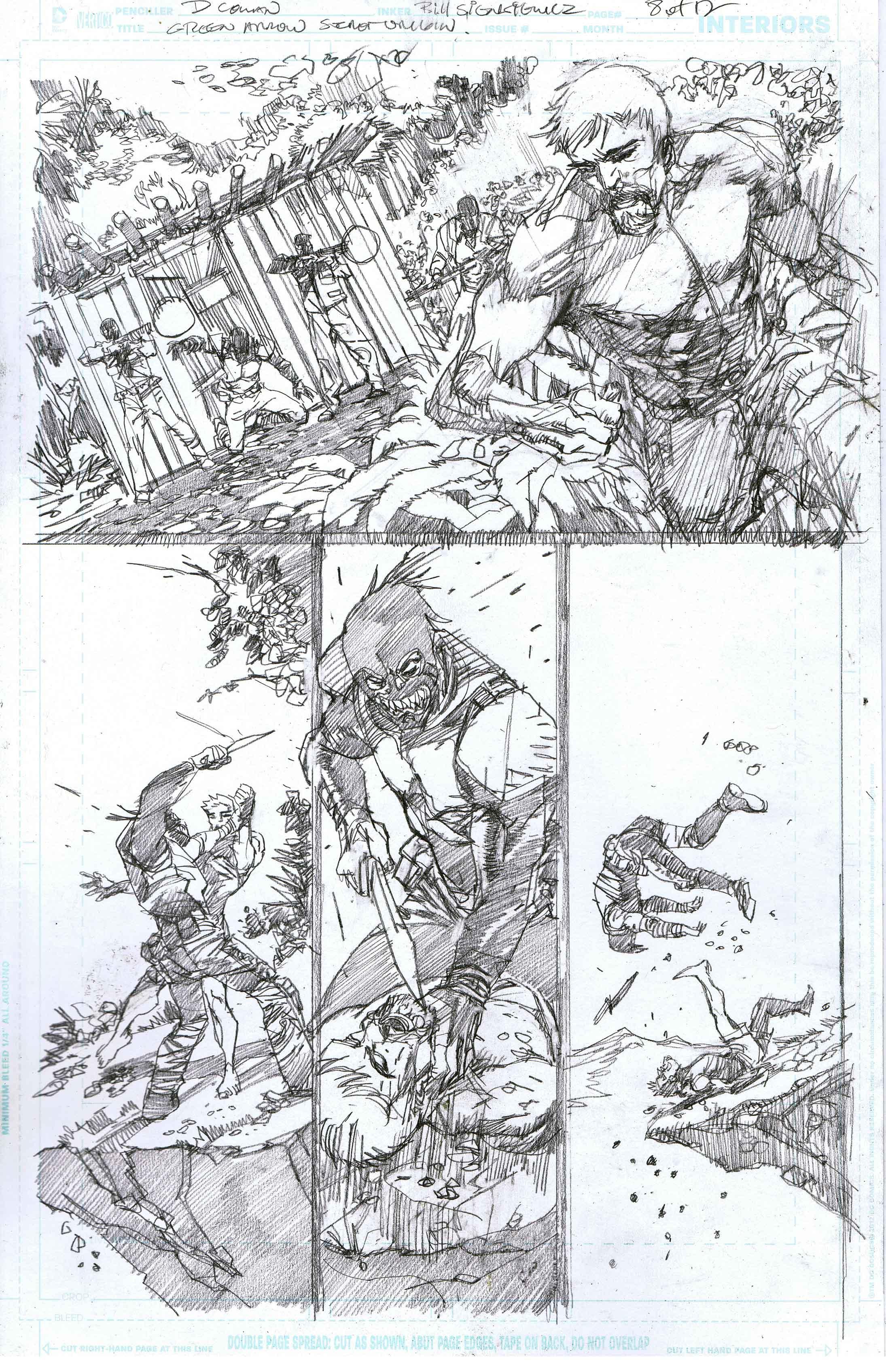 Green Arrow: Secret Origins - Page 8 - Pencils