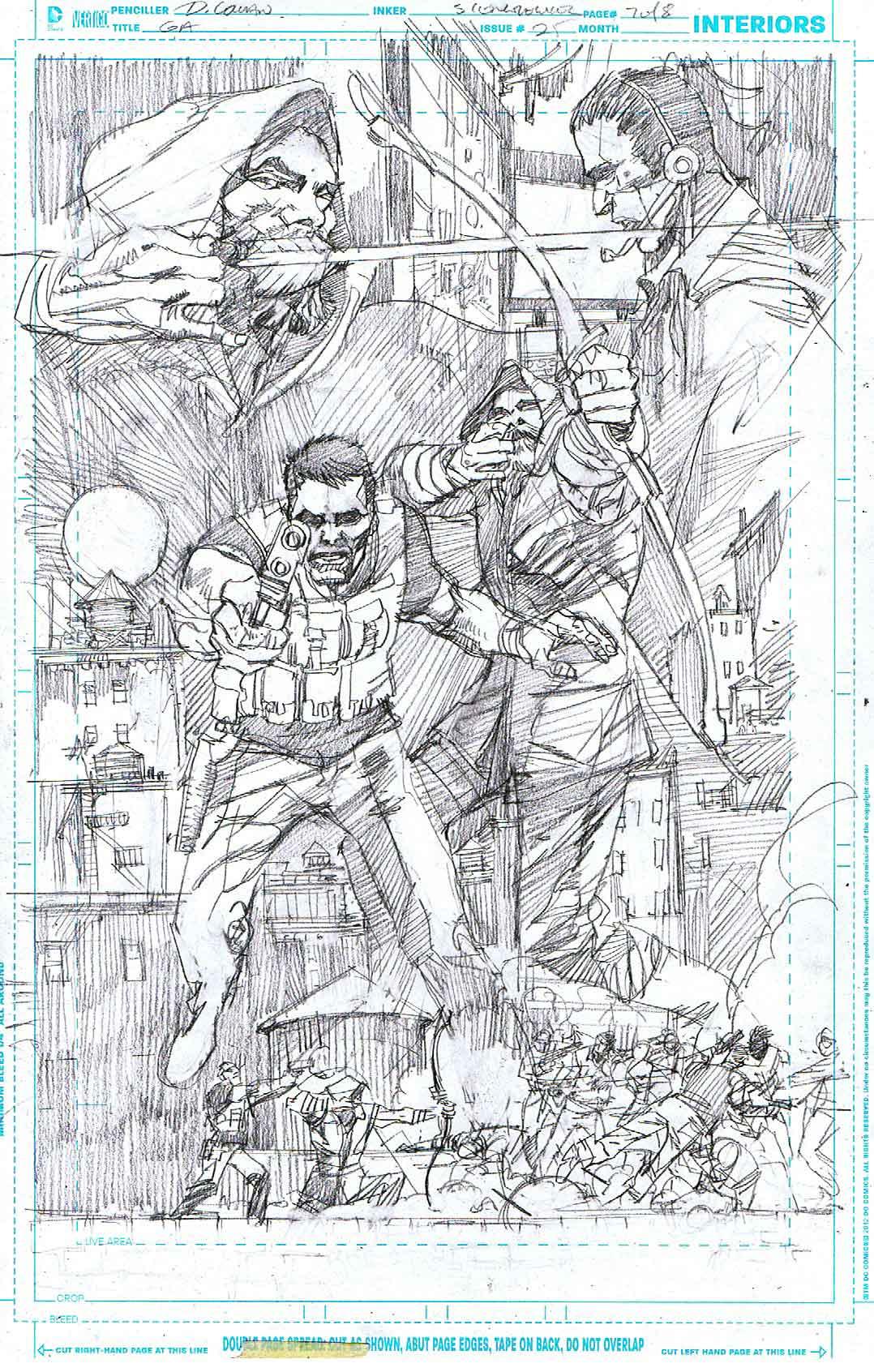 Green Arrow #25 - Page 7 - Pencils