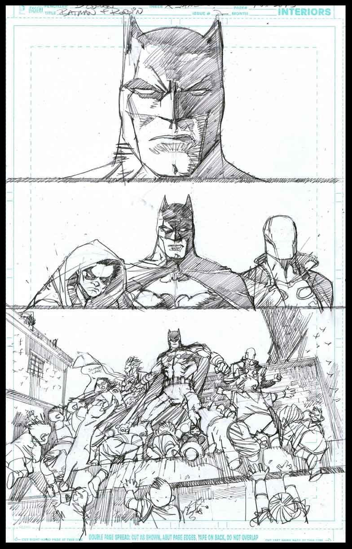 Batman & Robin #2 - Page 1 - Pencils