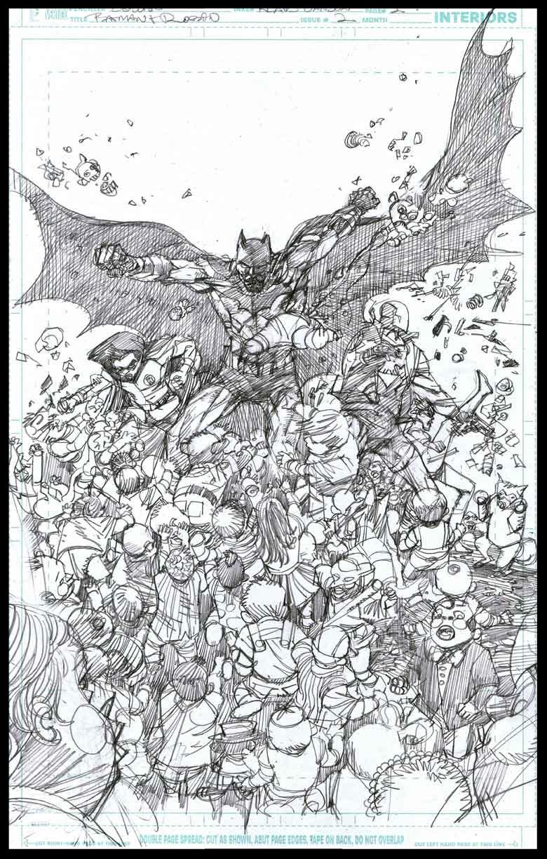 Batman & Robin #2 - Page 2 - Pencils