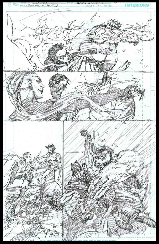 Batman & Robin #2 - Page 6 - Pencils