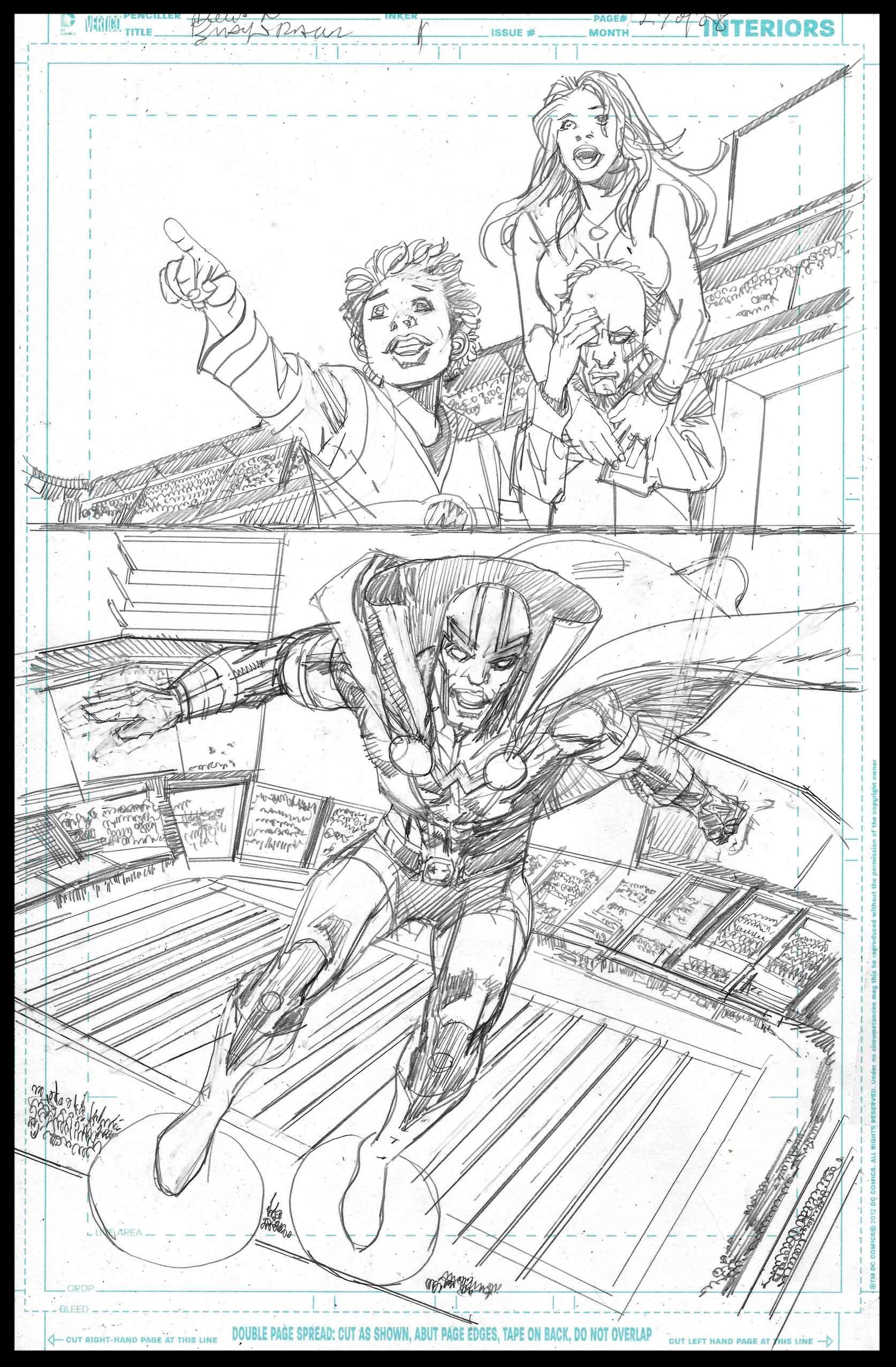 Black Racer #1 - Page 27 - Pencils