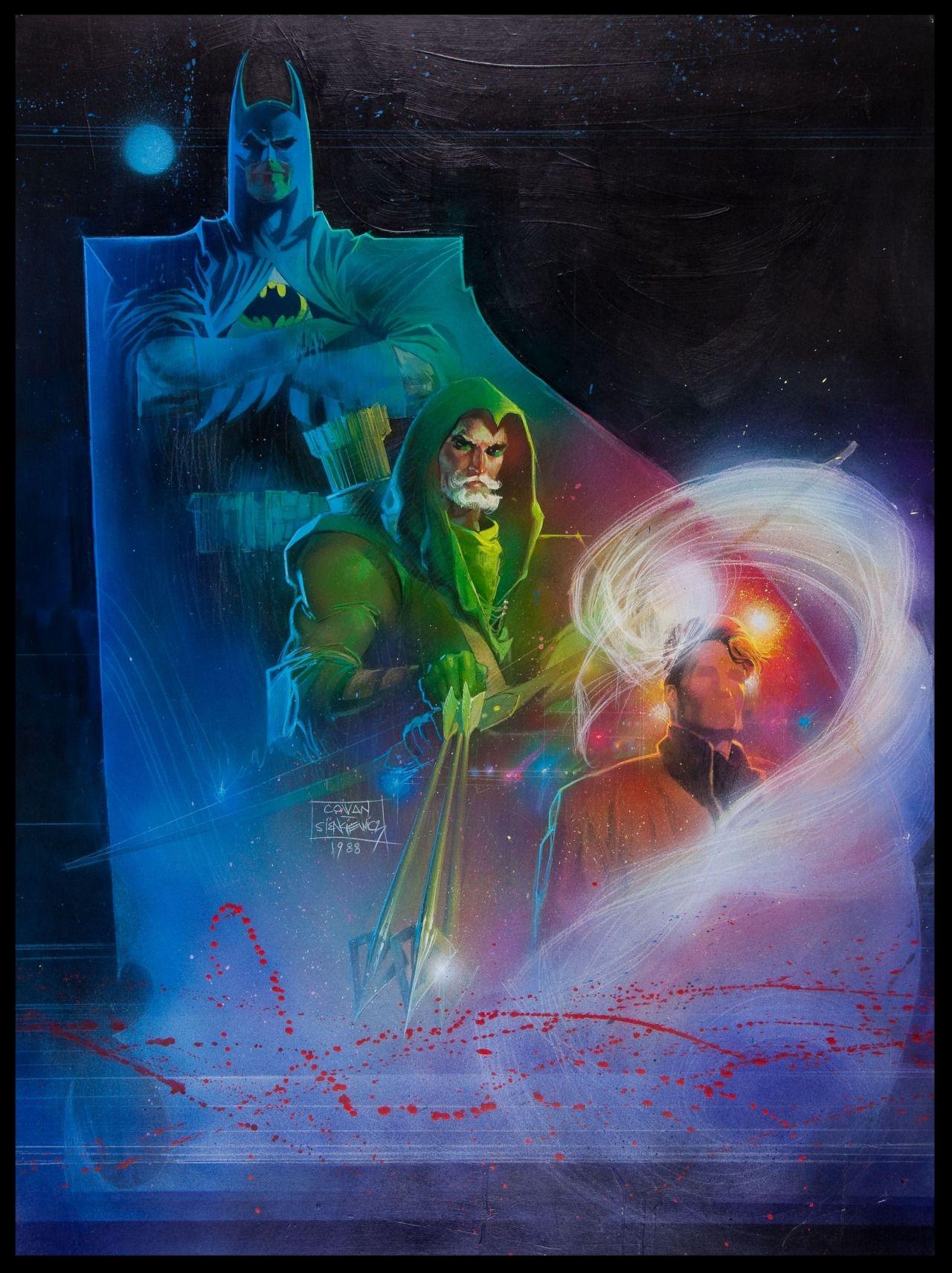 Batman, Arrow & The Question - Poster - Final Color