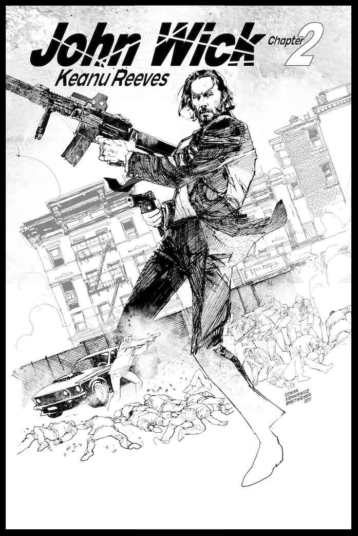 John Wick 2 - Poster - Pencils & Inks