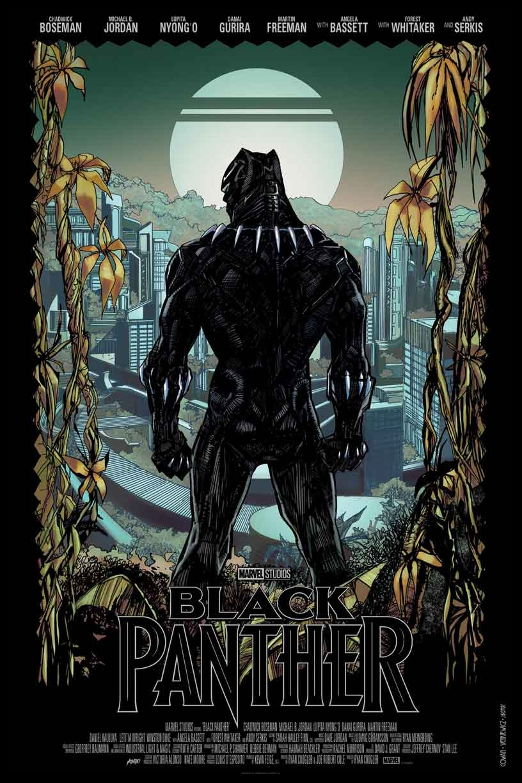 Black Panther - Mondo Poster - Final Color
