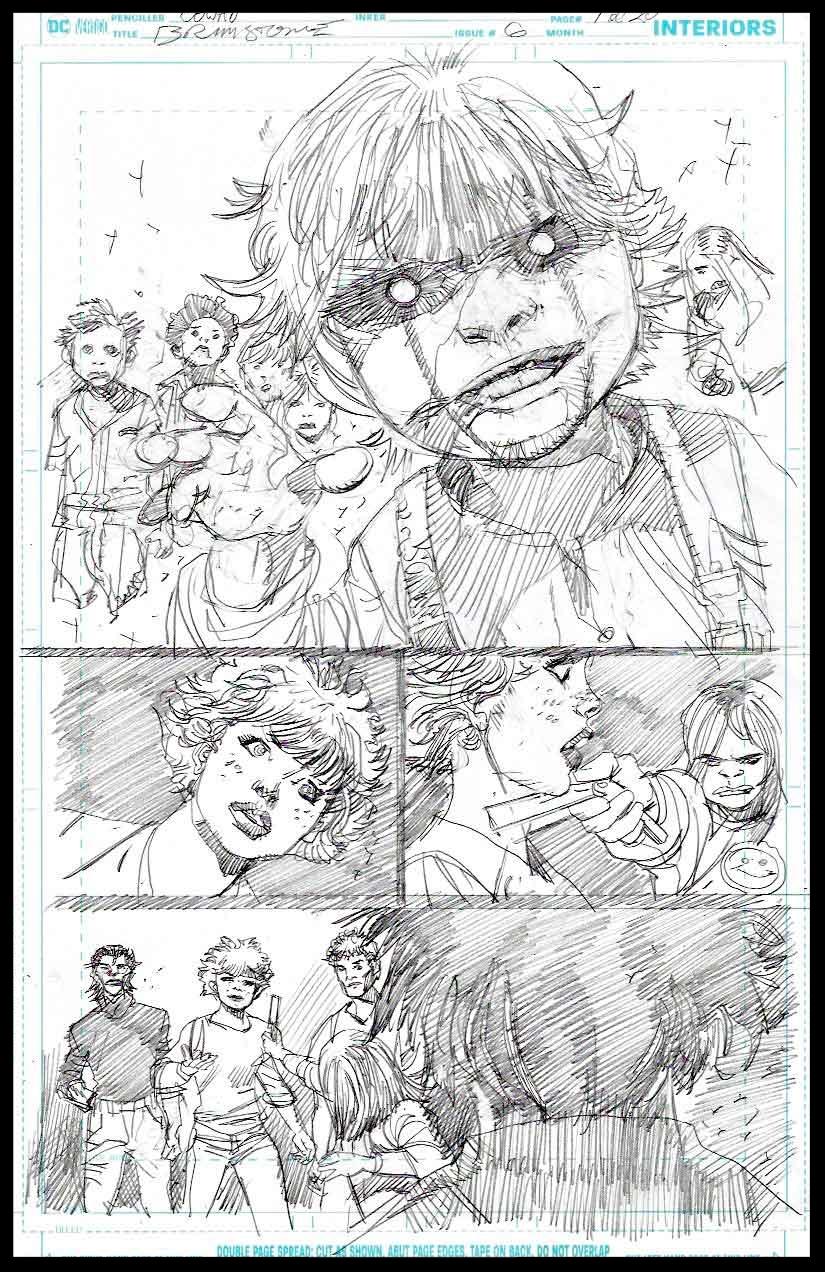 Brimstone #6 - Page 1 - Pencils