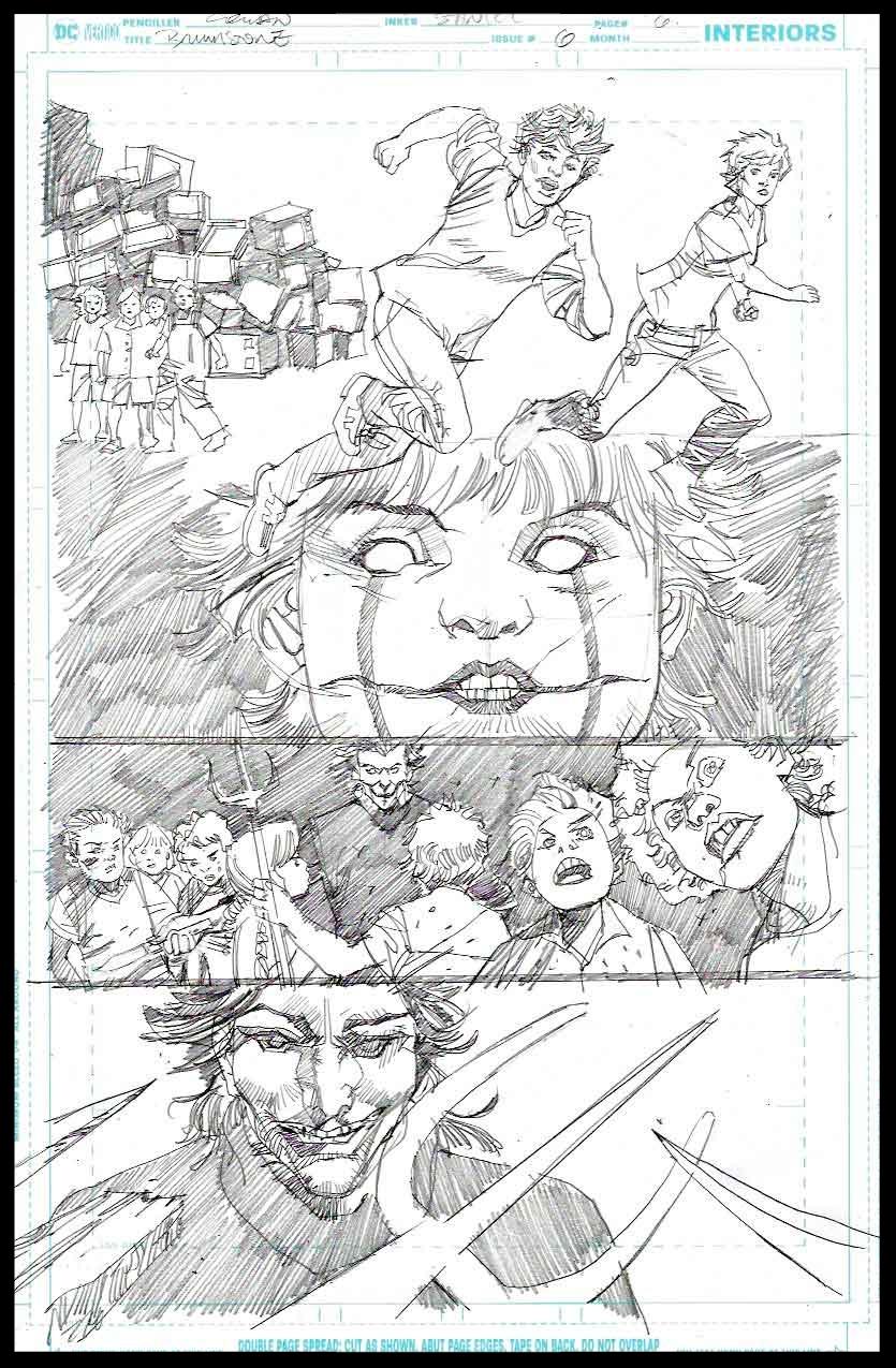 Brimstone #6 - Page 6 - Pencils