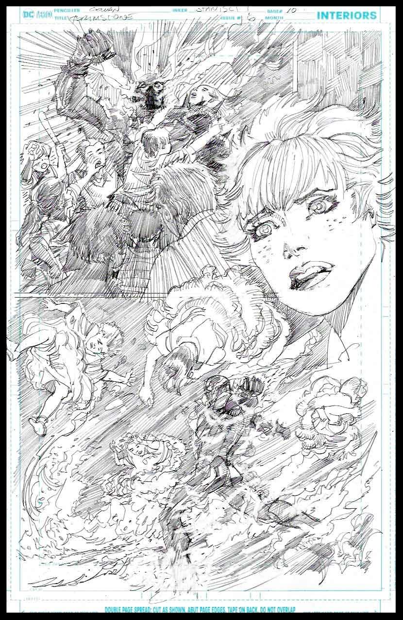 Brimstone #6 - Page 10 - Pencils