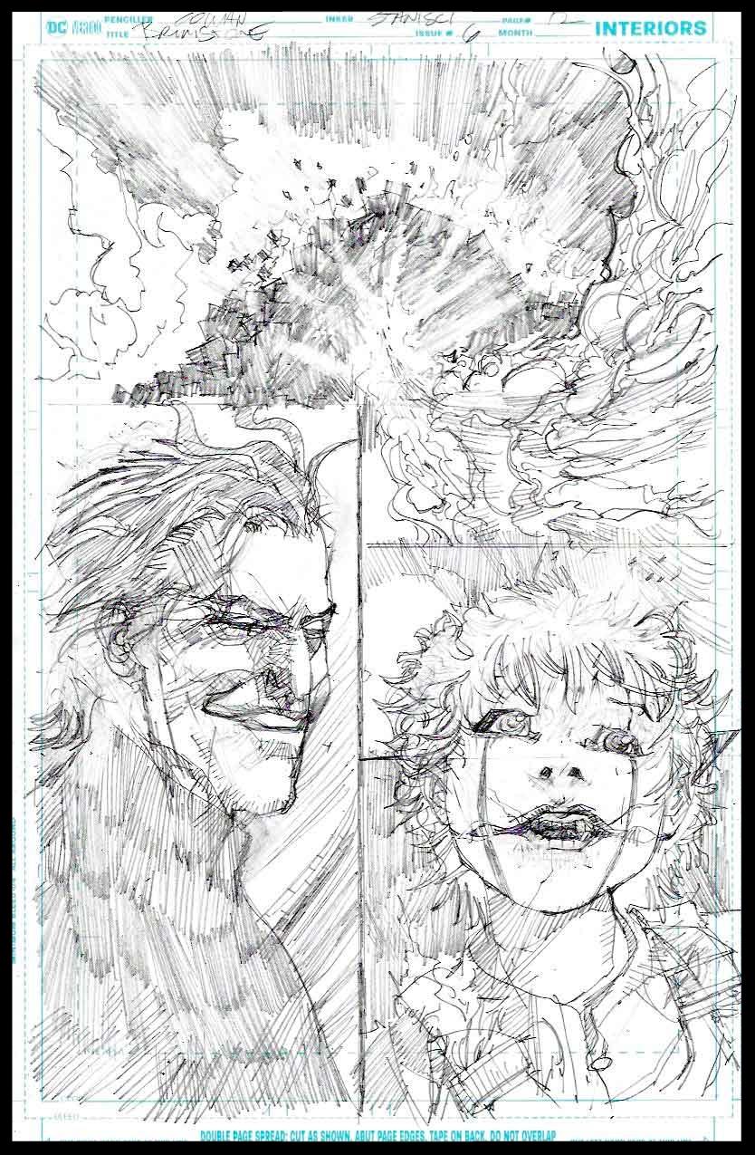 Brimstone #6 - Page 12 - Pencils