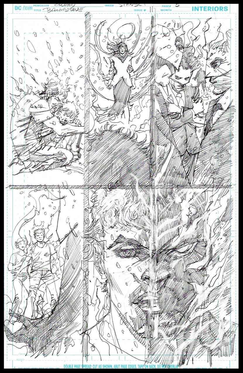 Brimstone #11 - Page 5 - Pencils