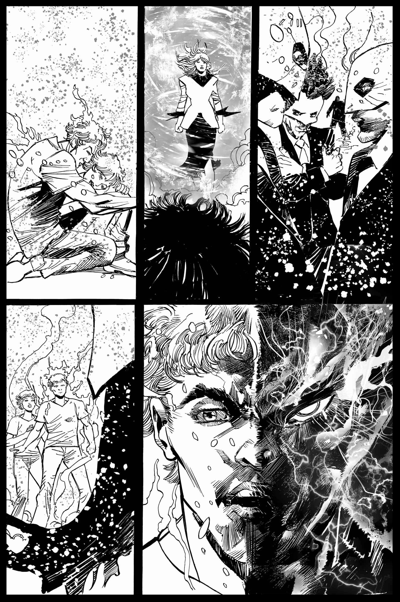 Brimstone #11 - Page 5 - Pencils & Inks