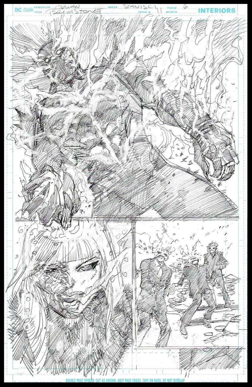 Brimstone #11 - Page 6 - Pencils
