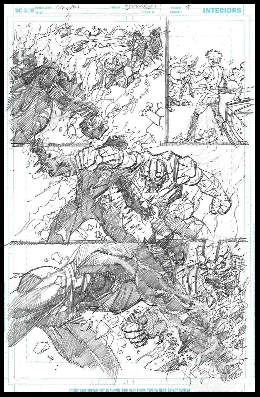 Brimstone #11 - Page 9 - Pencils