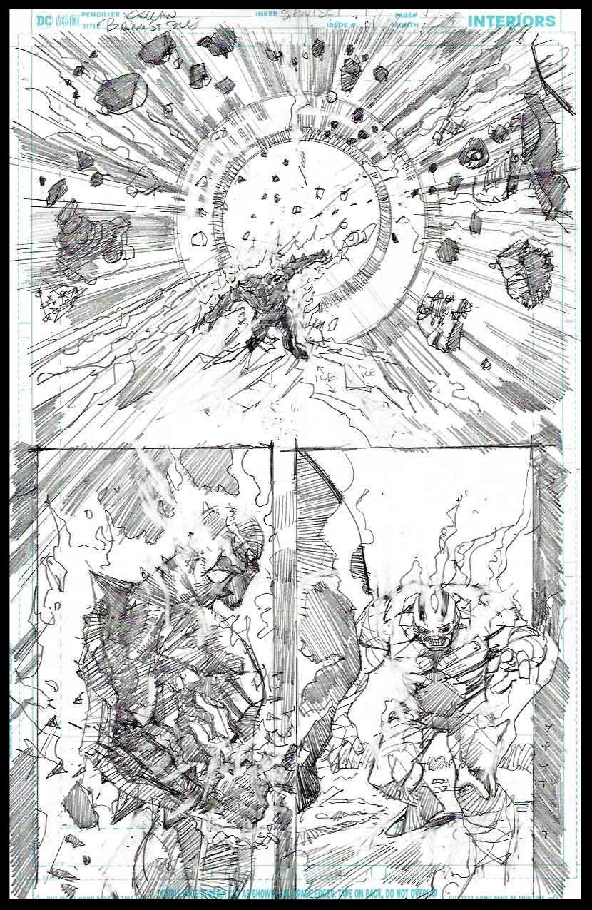 Brimstone #11 - Page 12 - Pencils