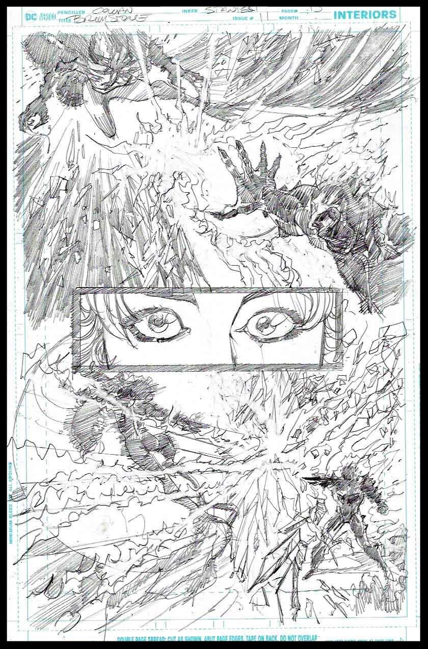 Brimstone #11 - Page 15 - Pencils