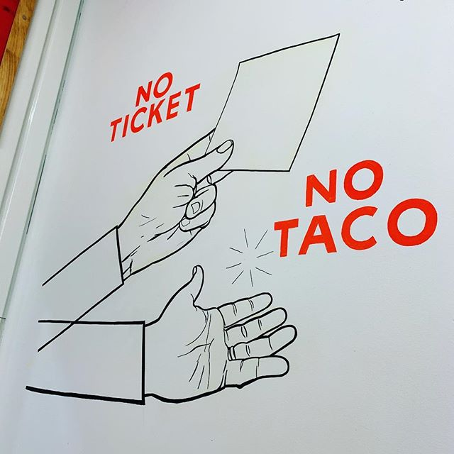 Simple. #noticketnotaco #lostacosnumerouno #tacos #newyorkfood
