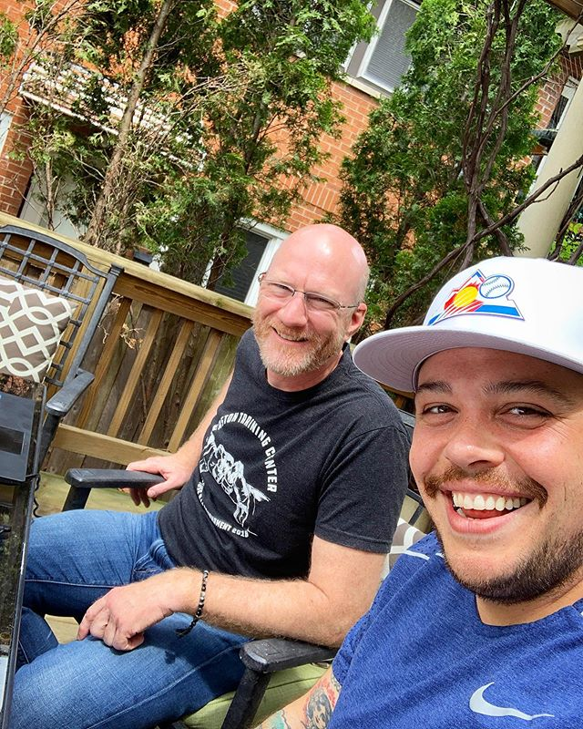 Good times with @barry.solway this weekend!! We're working on something... and I'm really excited about it. #writing #story #screenplay