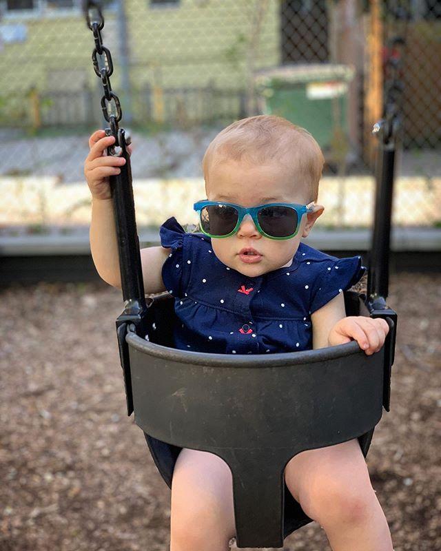 Esta chica es super cool! #UmaFoxLaRuffa #coolestbabyever