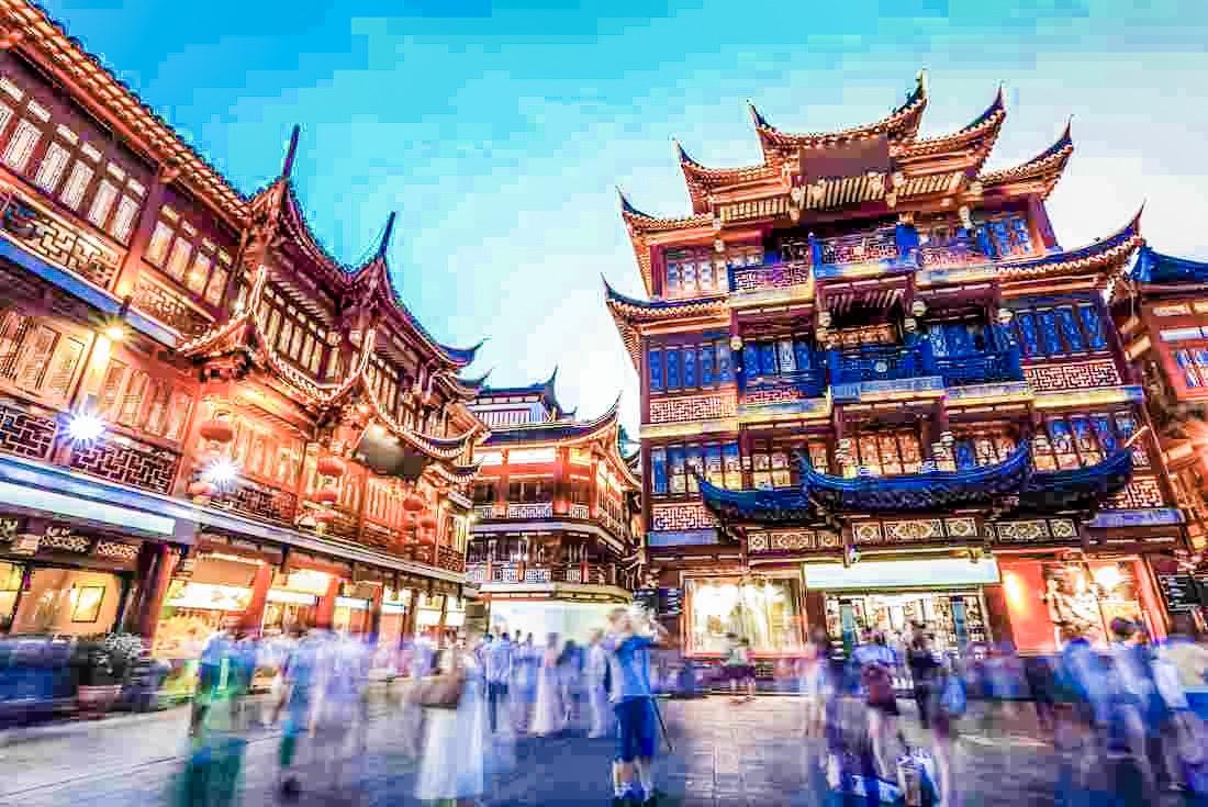 Yuyuan Bazaar, Shanghai, China.