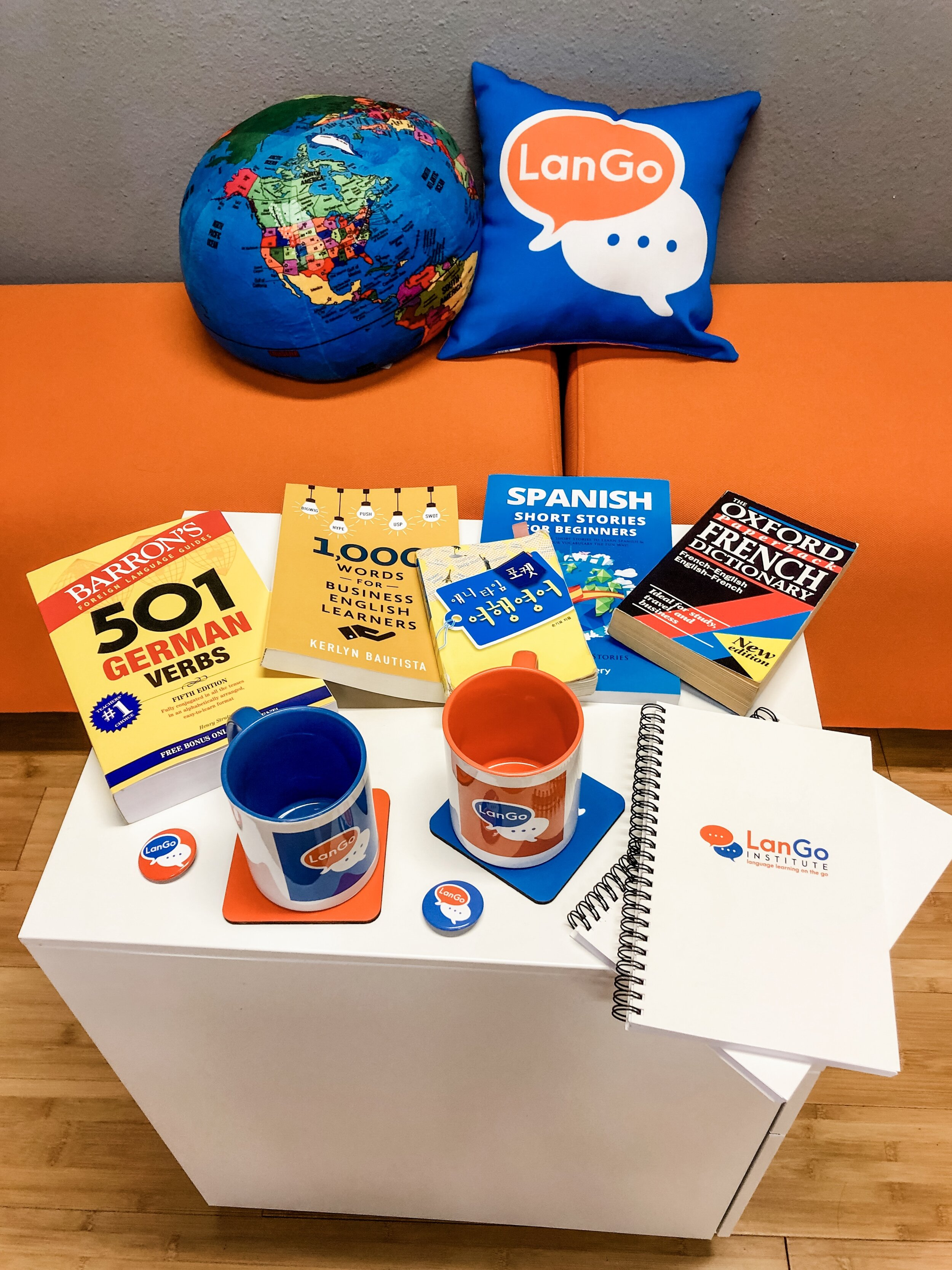 Participate in our fall contest by Sept. 27th to win awesome LanGo swag and language-learning materials!