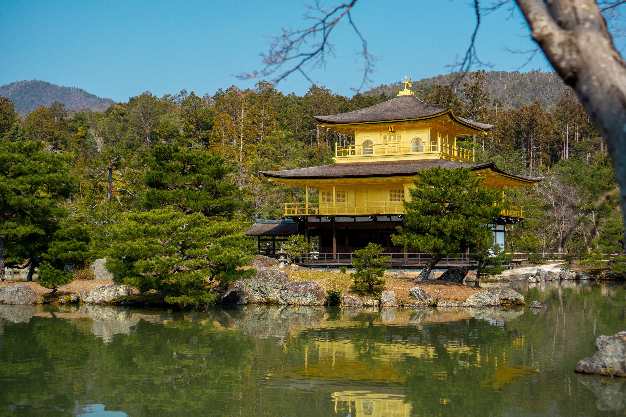 Golden Temple, Kyoto, Japan (Mar 19)