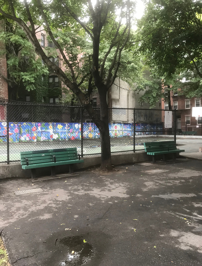 boston's north end cutillo park in need of maintenance and repair