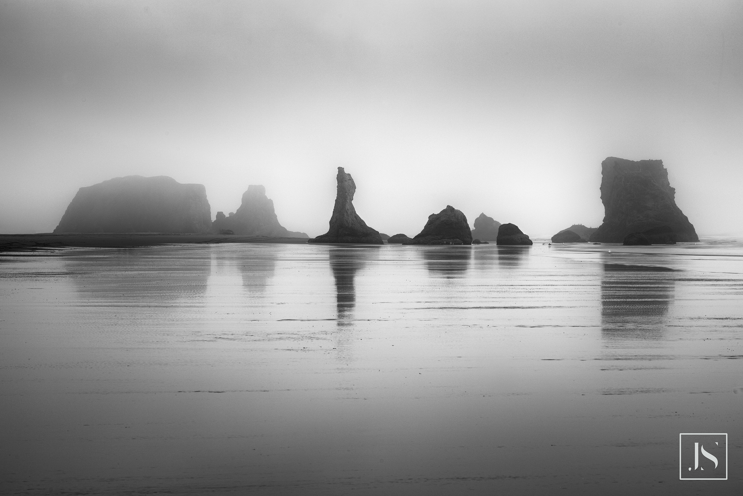 Bandon Fog- Bandon Beach, Oregon-2015