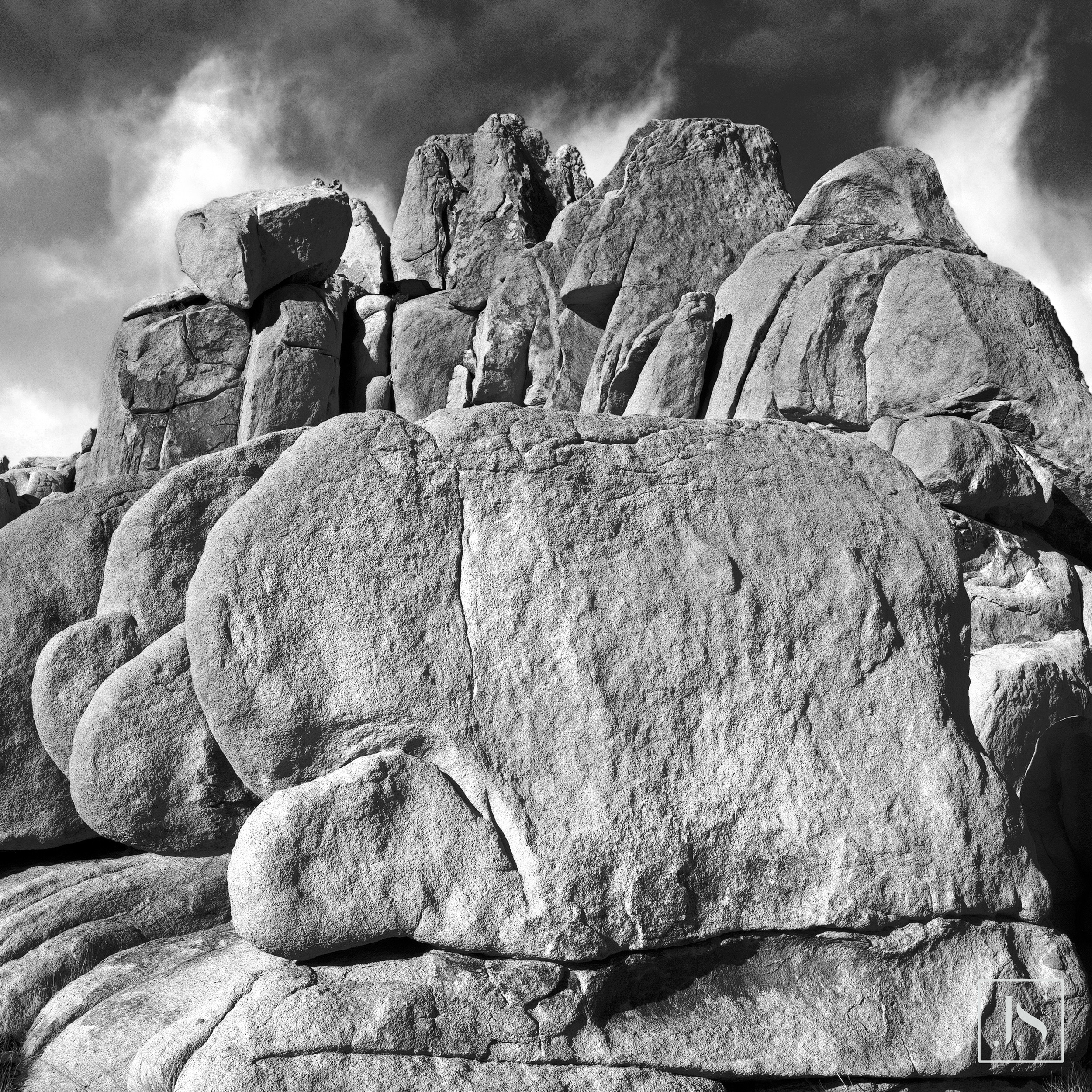 Rocks, Joshua Tree National Park, CA-2007