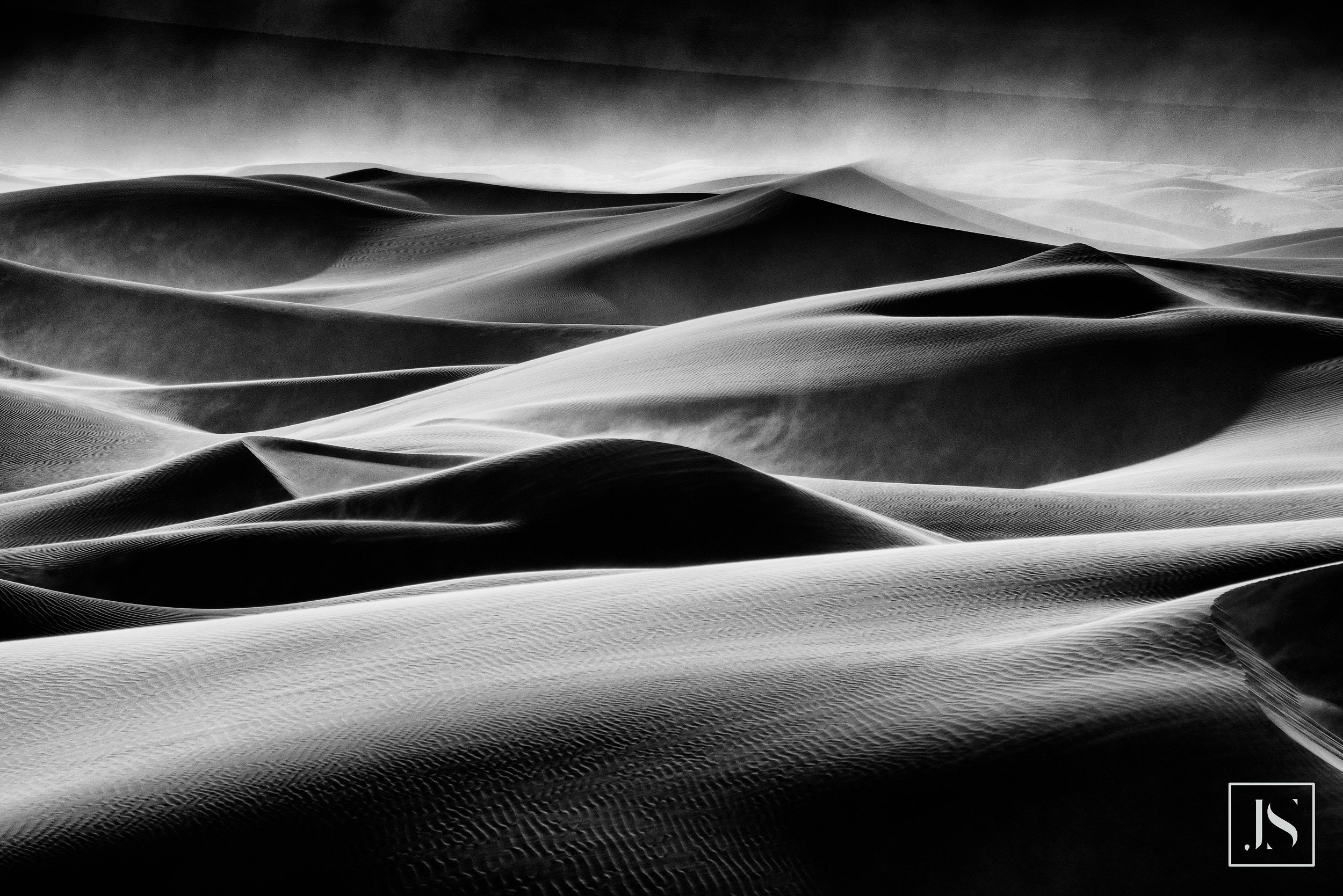 Wind Storm, Mesquite Dunes-Death Valley, CA 2015