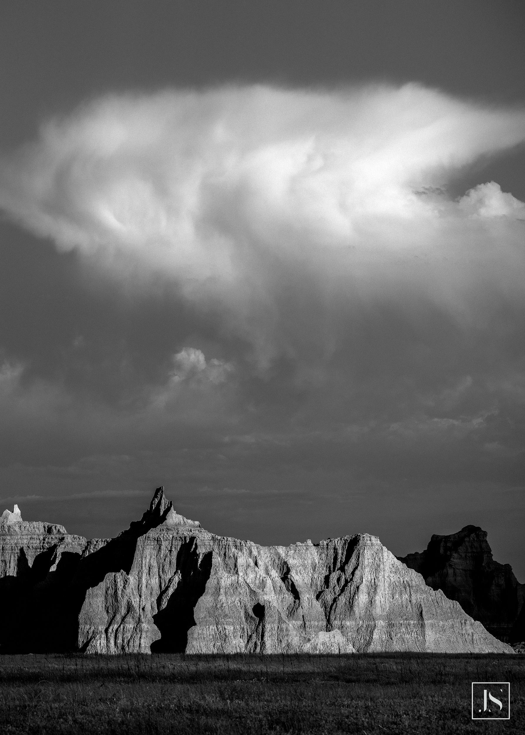 Cloud formation-Castle Trail-Badlands South Dakota