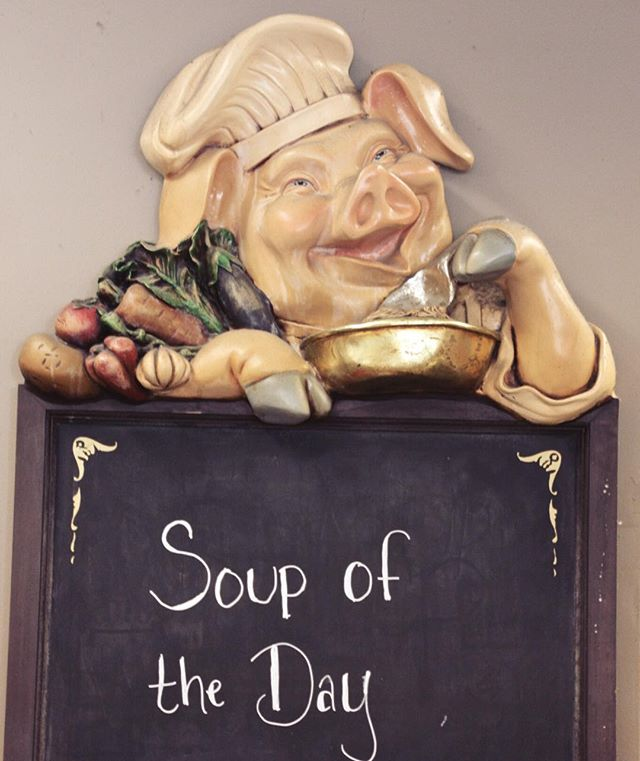 Soup is on at Concord General! Look to Chef Chowder for the soup of the day-it will change daily! So, come on in from the cold and pick up a tasty cup of soup to warm you up this winter season.