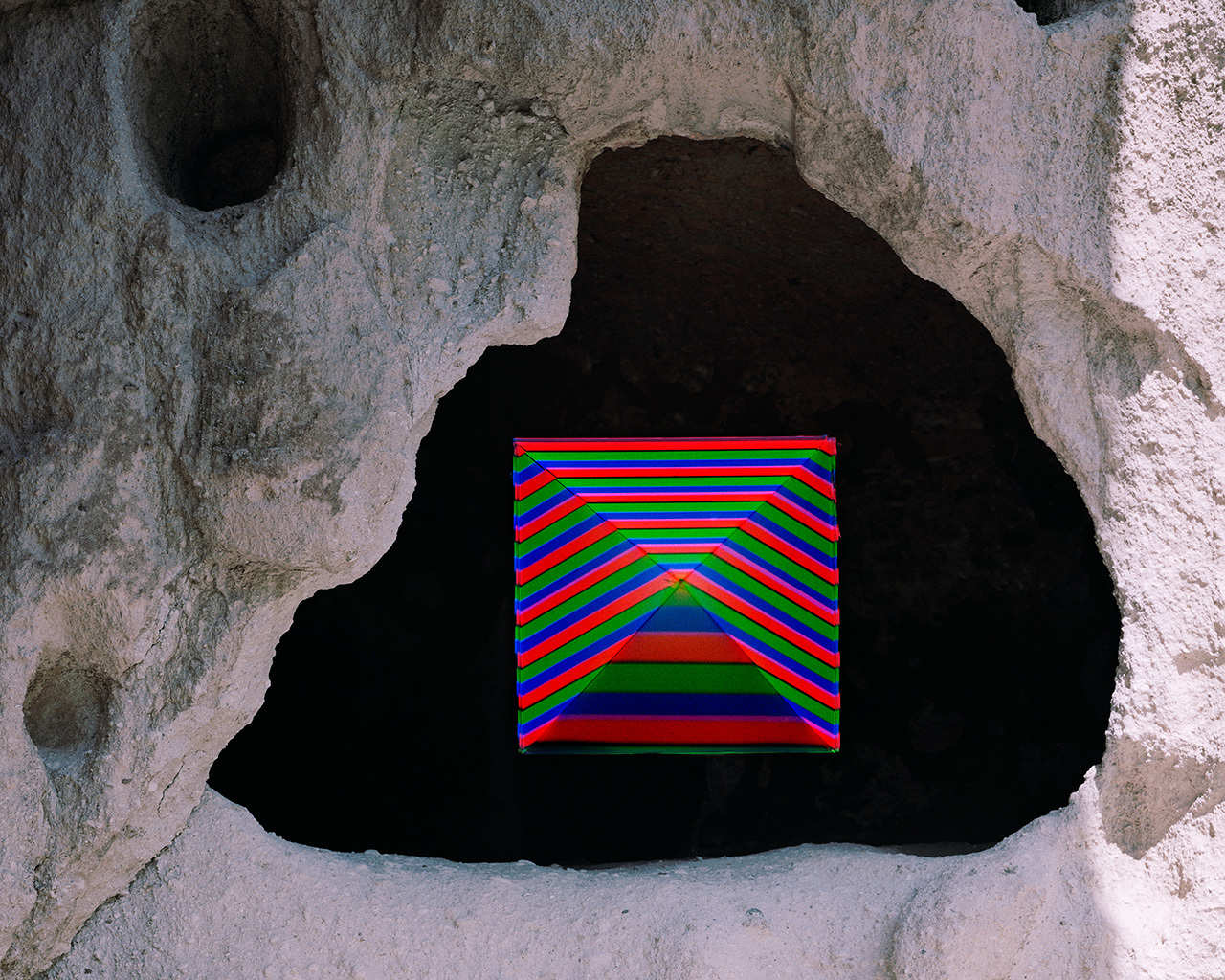 Lydia McCarthy     Dwelling (RGB),  2015 Archival Inkjet Print 8x10 in. 1 of 6