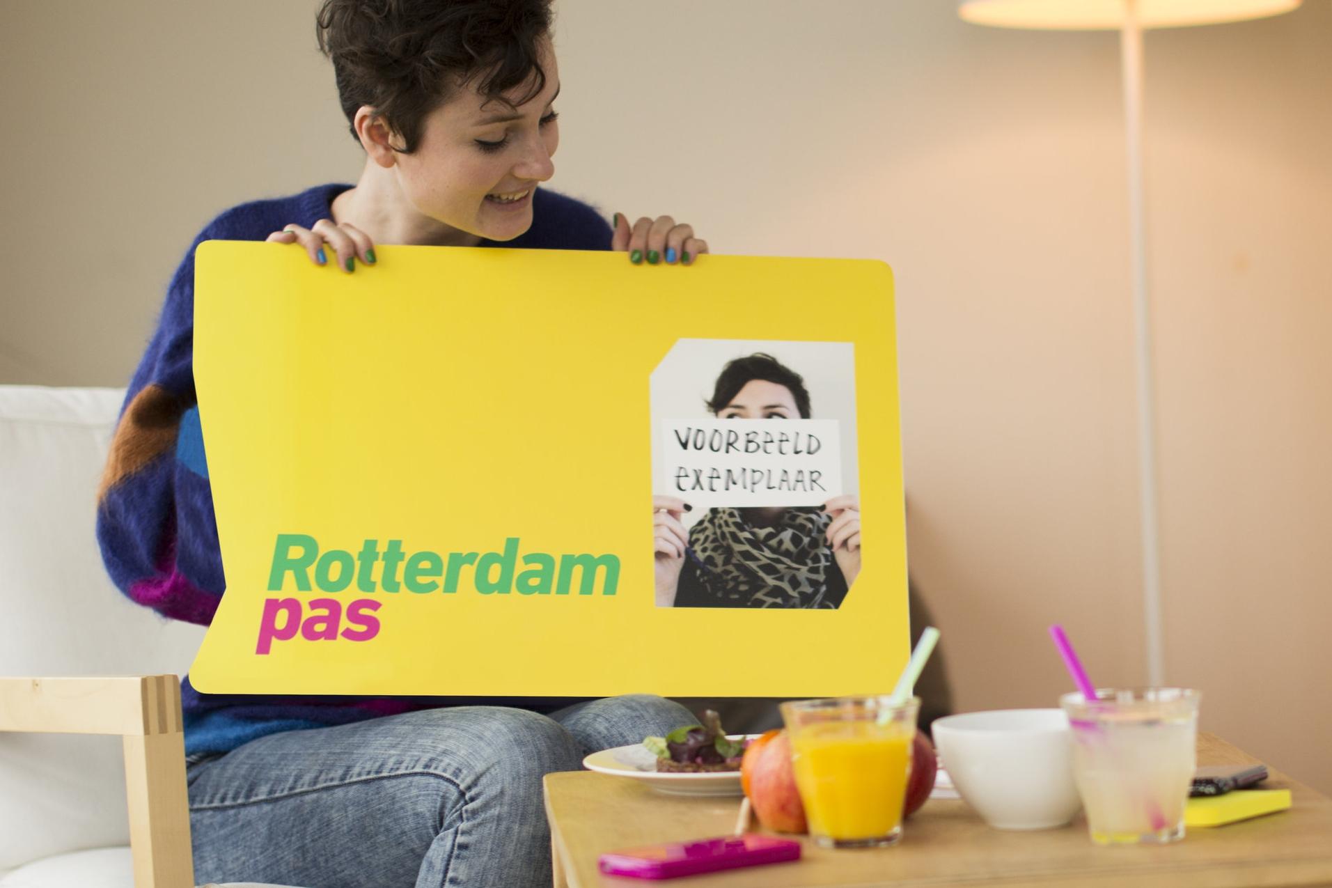 Rotterdampas - Herpositionering voor de organisatie die gelooft dat je meer geniet van het leven, als je dingen onderneemt, plezier hebt en oog voor elkaar.