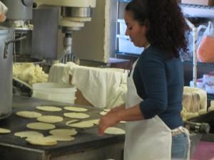 The tortillas maker