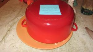 covered cake