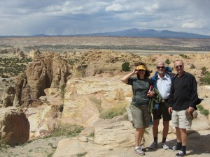 Irene, Michael and Alan, New Mexico